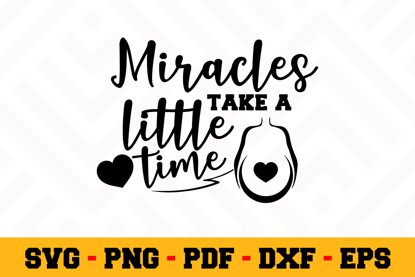 Pregnant SVG Design n539 | Pregnant SVG Cut File example image 1