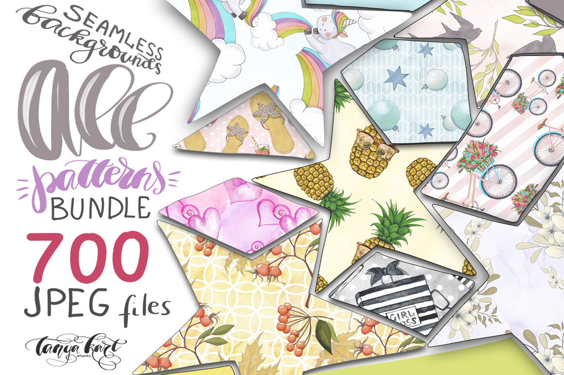 All Patterns Bundle SPRING SALE 99% OFF example image 1
