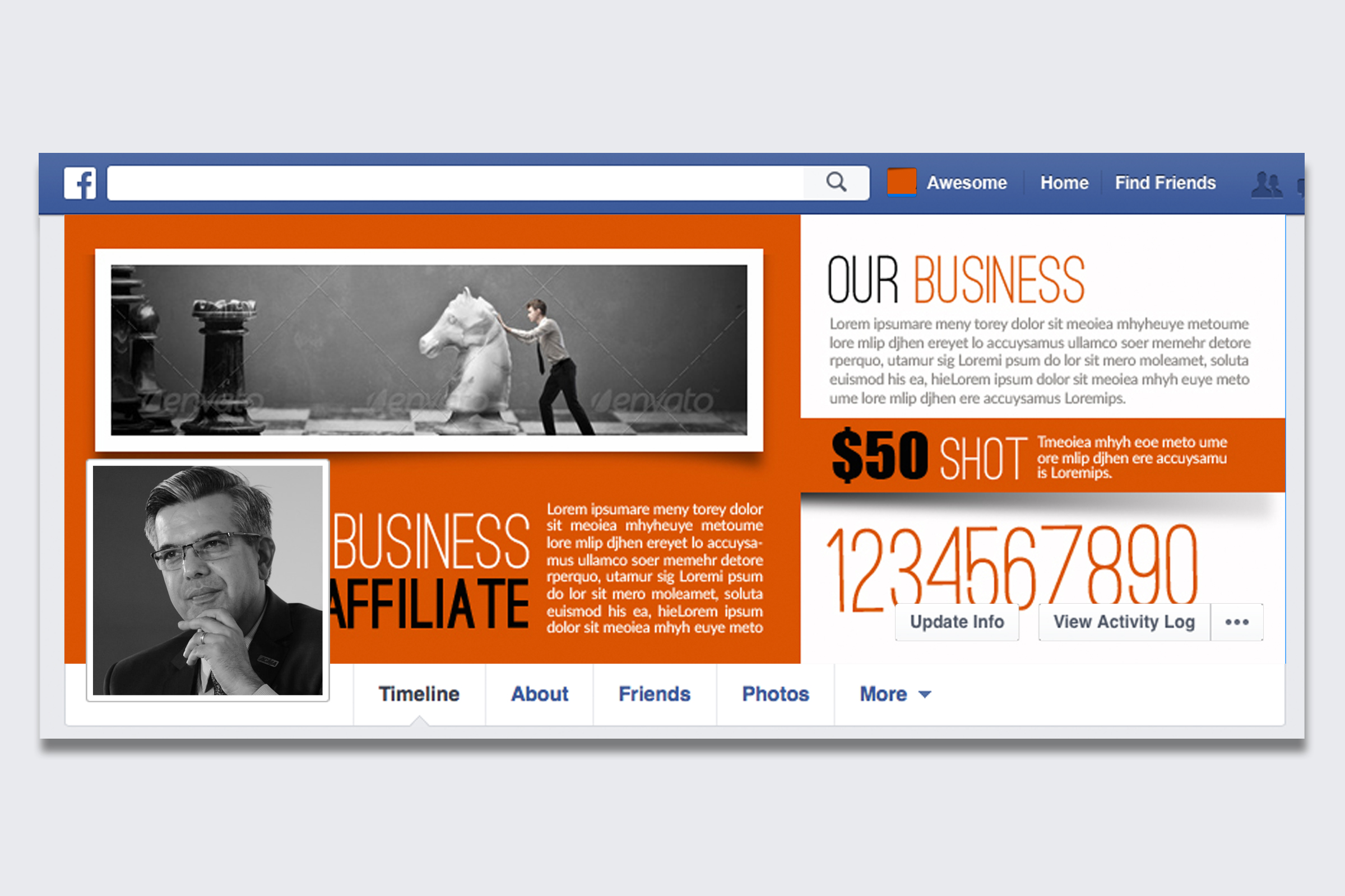 Business Innovation Facebook Timeline example image 1
