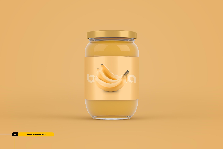 Jam Jar Packaging Mockup example image 2