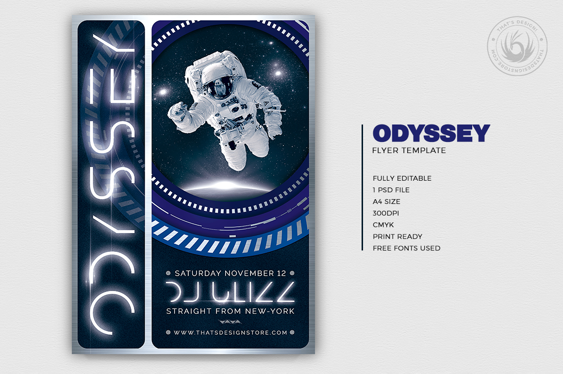 Odyssey Flyer Template V2 example image 2