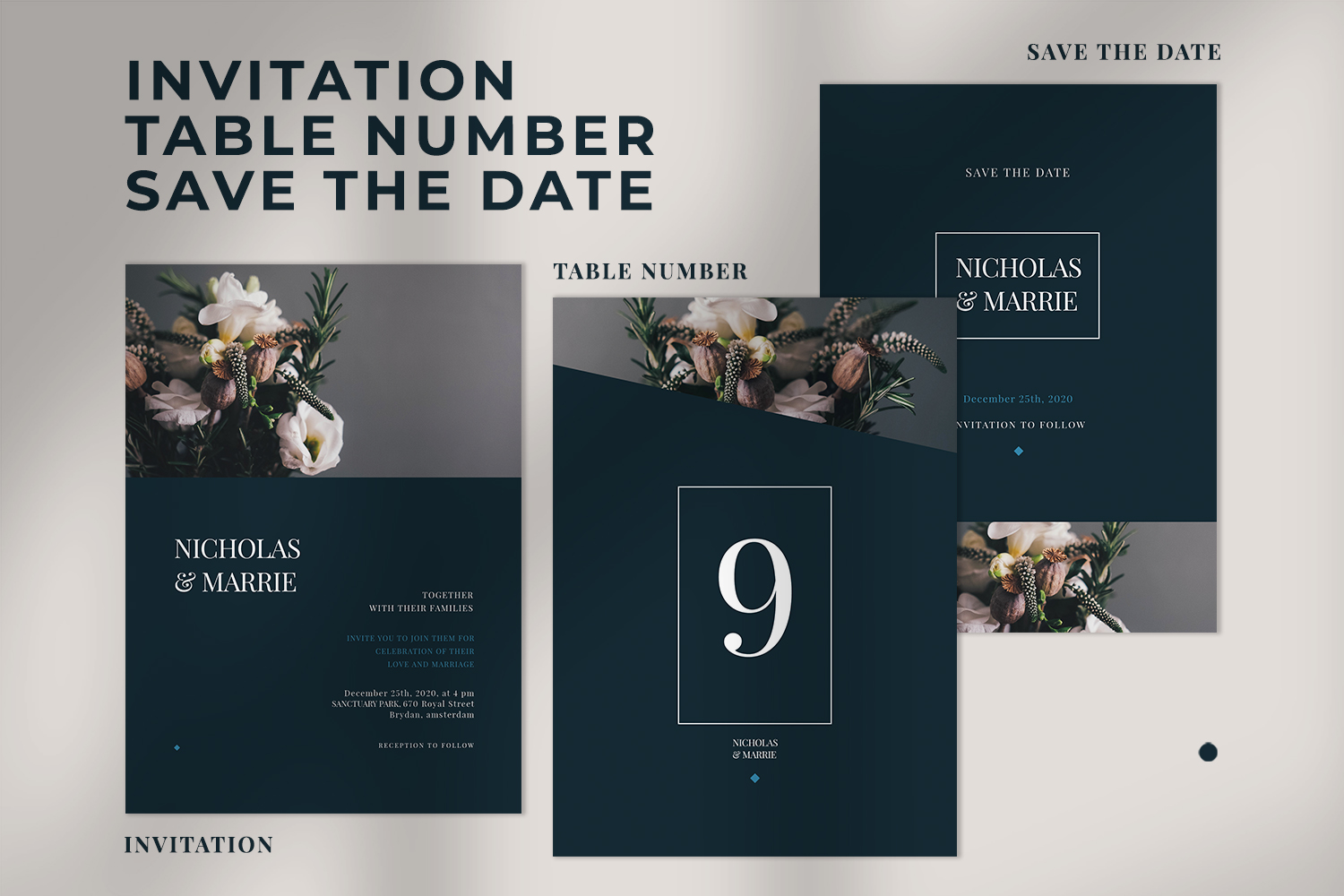 Wedding Invitation Suite example image 4