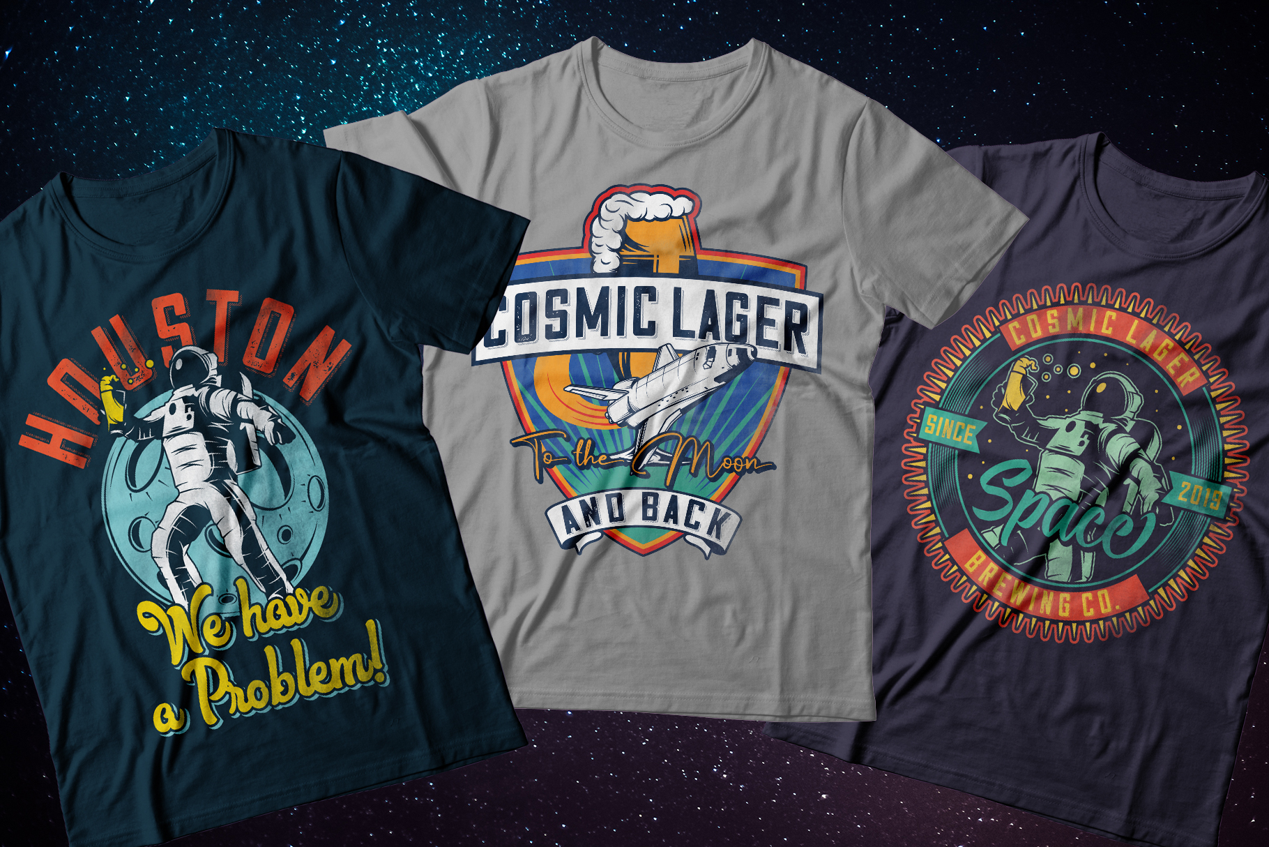 Cosmic Lager with bonus example image 6