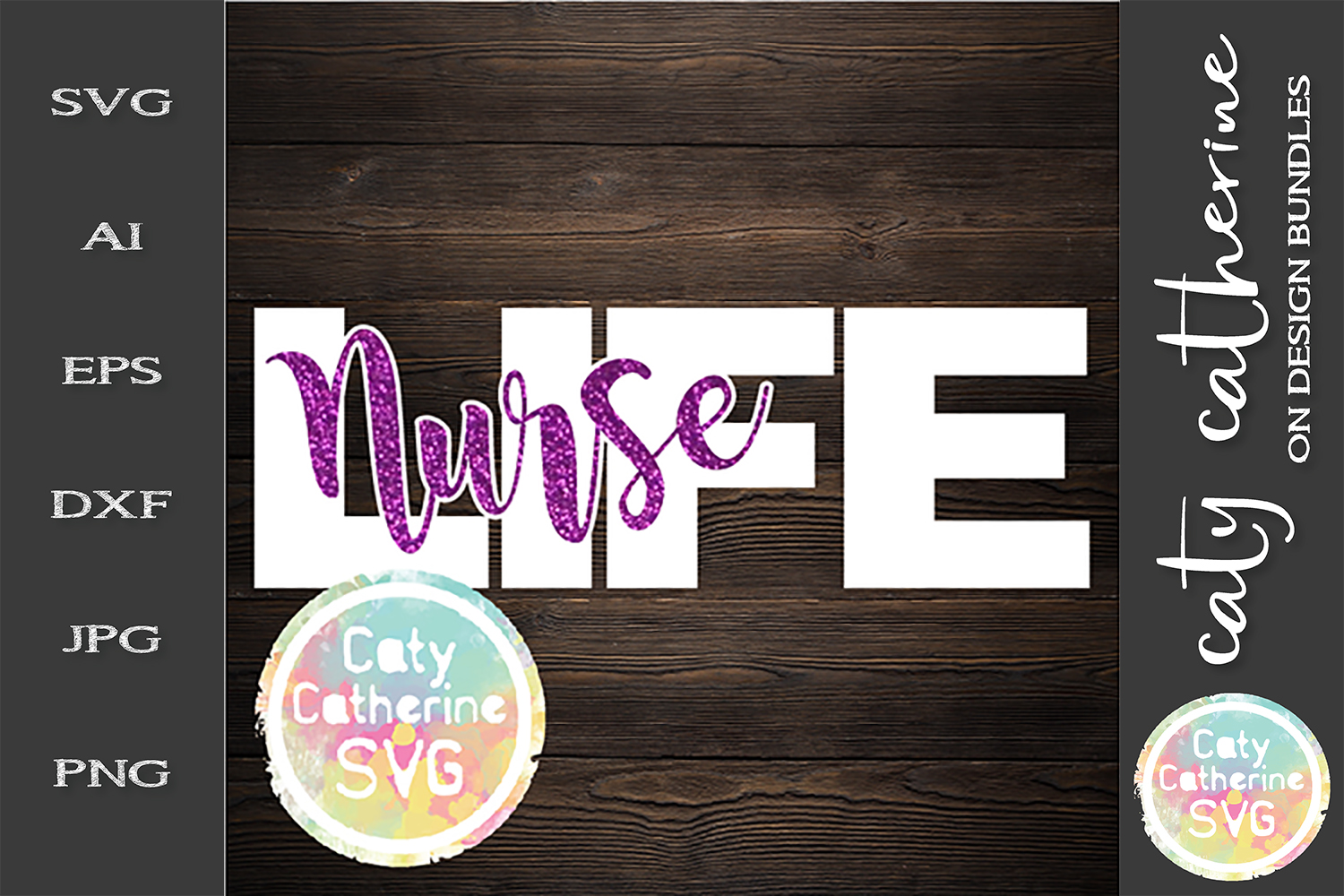 Nurse Life SVG Cut File Nurses Week example image 1