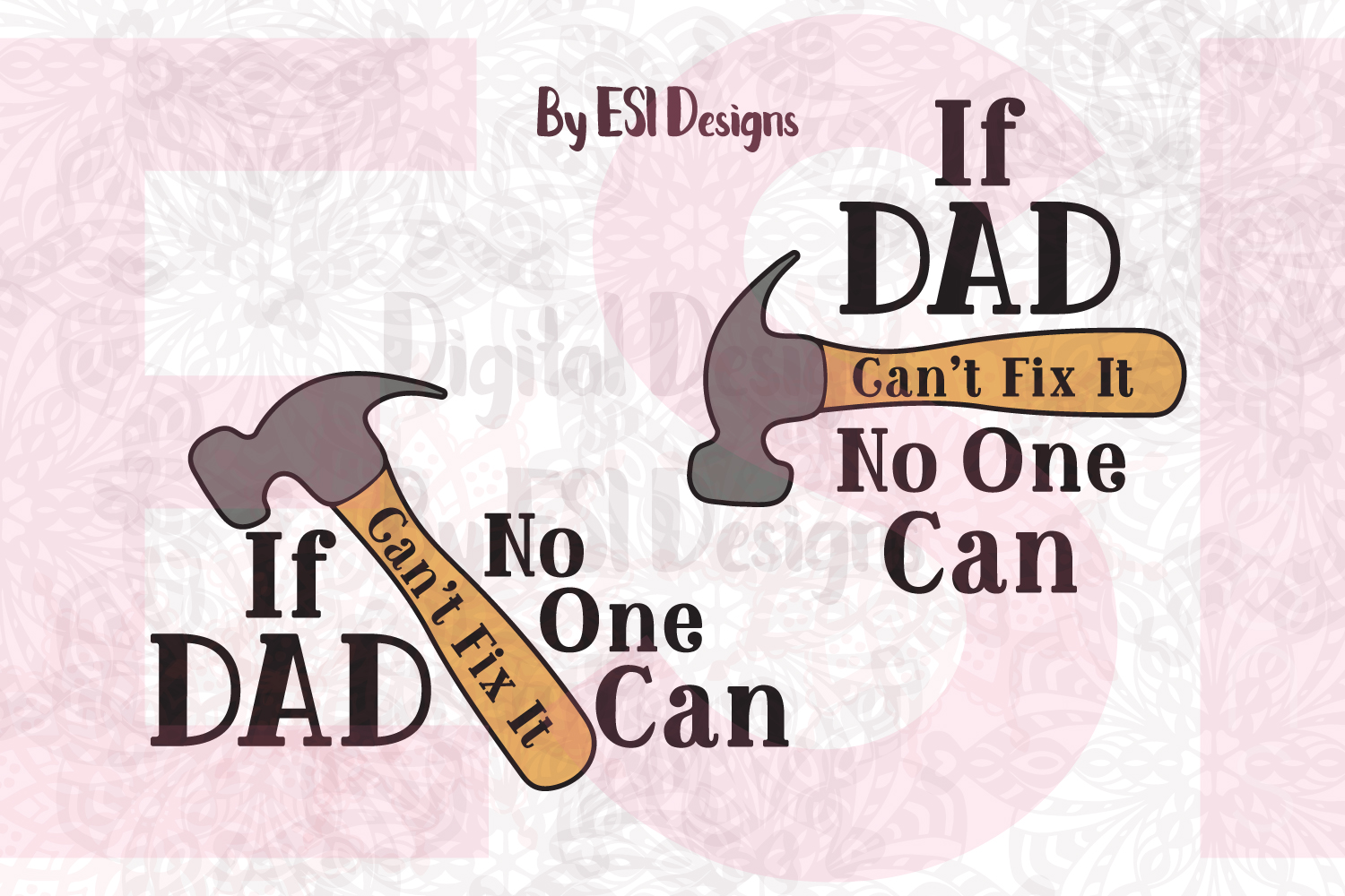 If Dad Can't Fix it No One Can example image 1