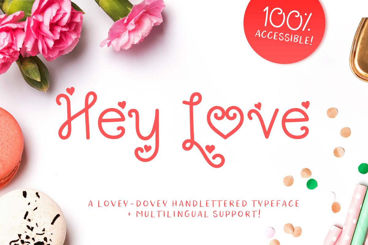 Hey Love example image 1
