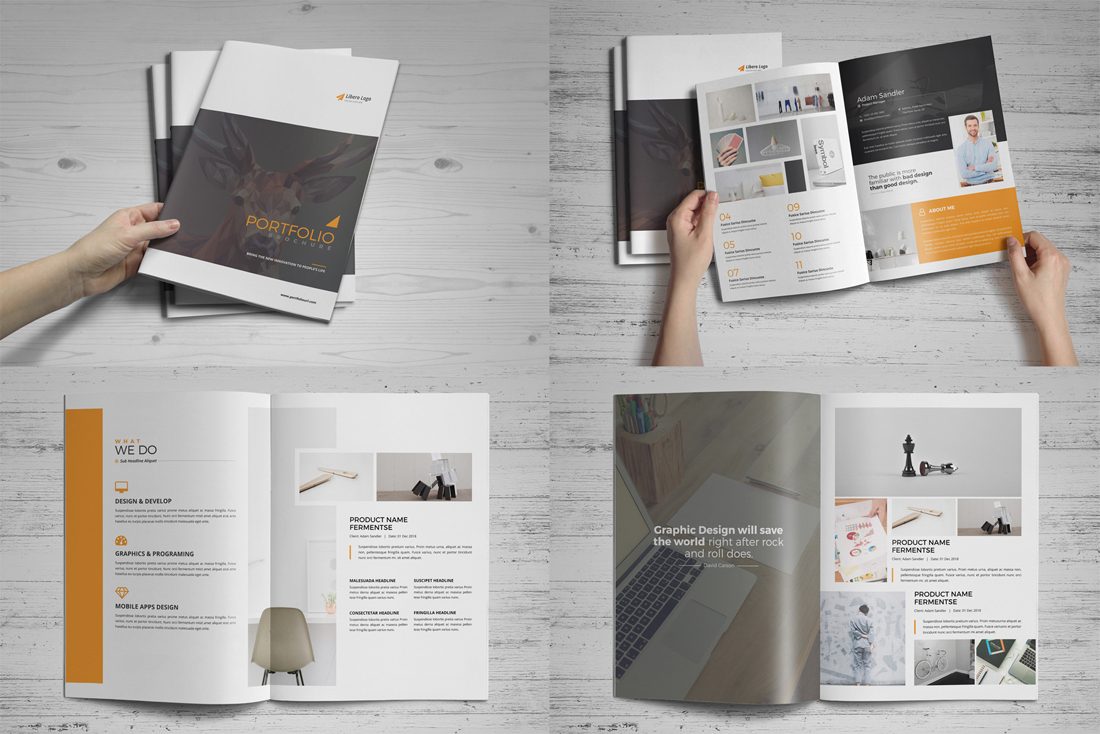 Portfolio Brochure Bundle example image 14