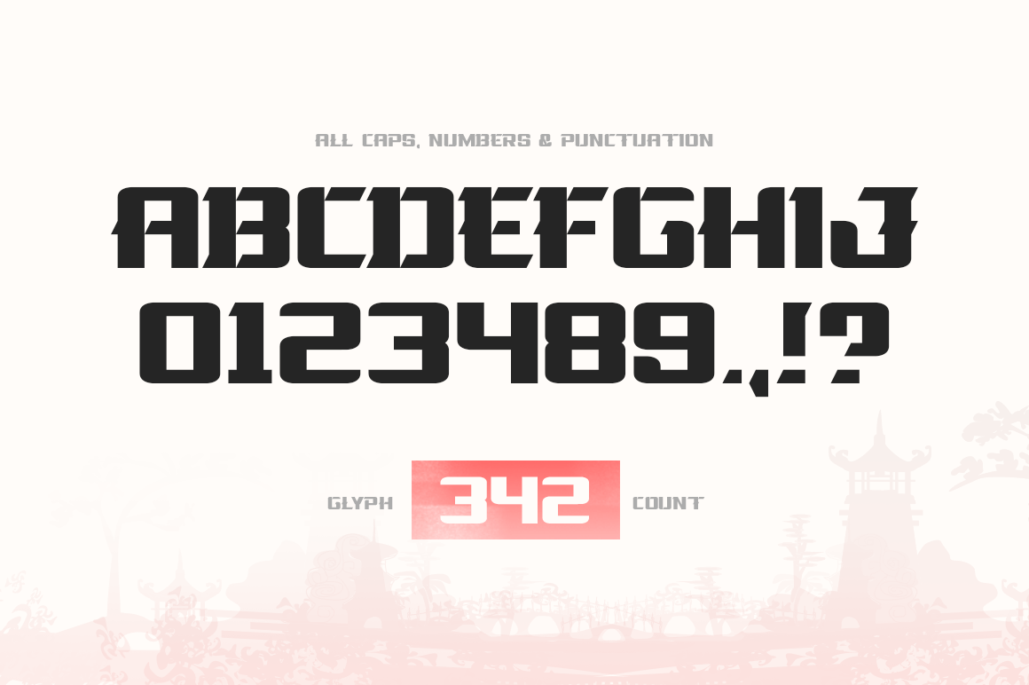 La Oriental Font example image 2