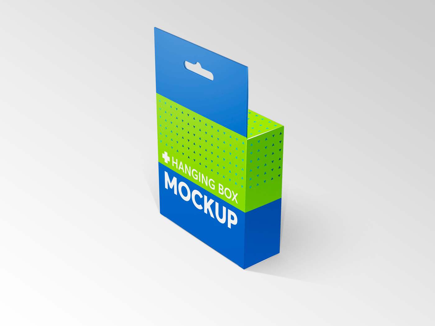 Flat Square Box with Hanger Mockup example image 21