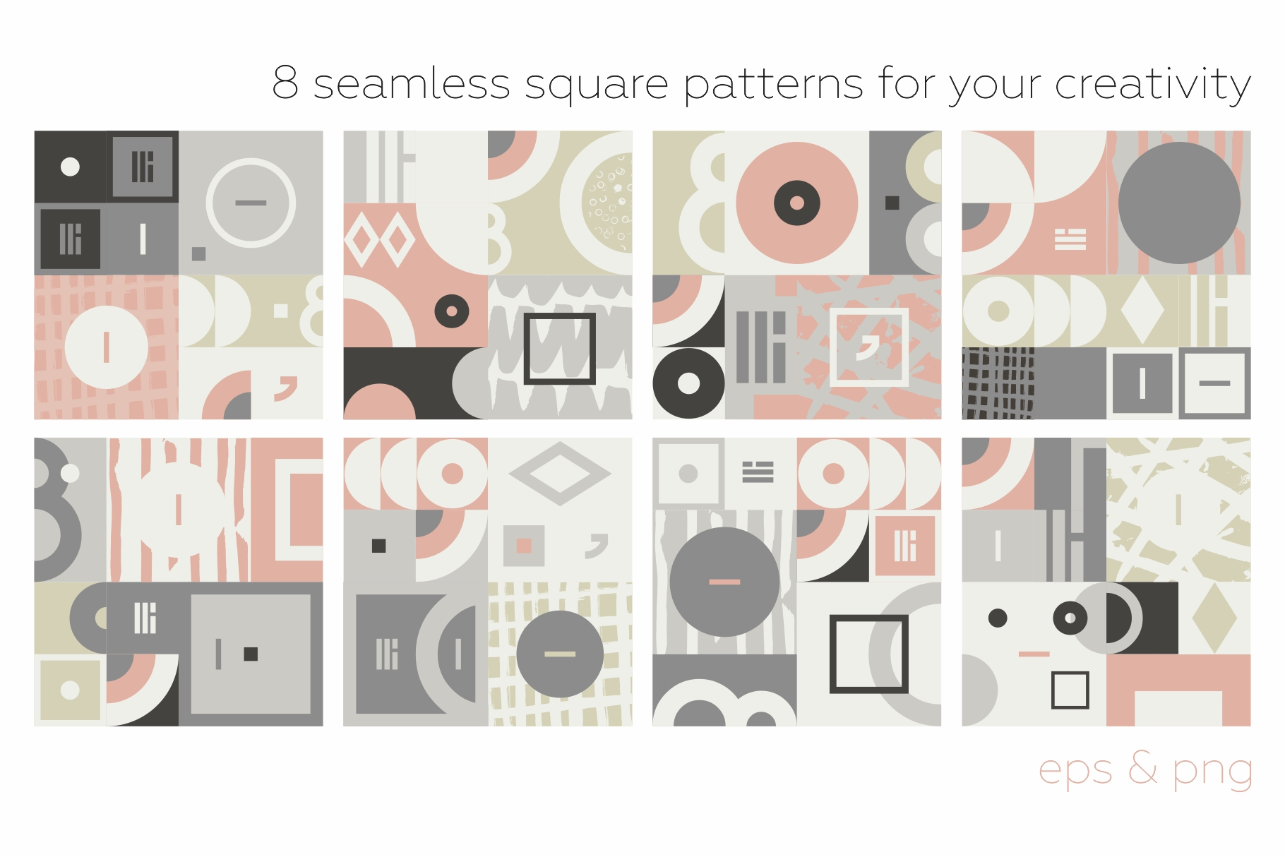 Esthetic Geometric pattern collection example image 9