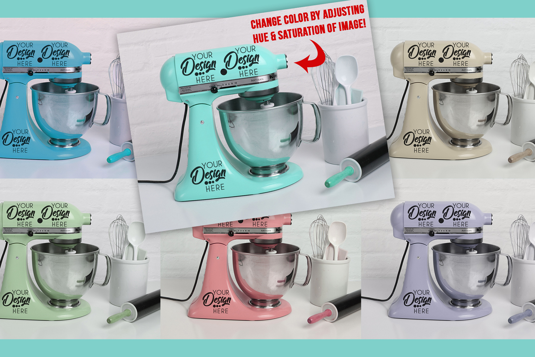 Kitchenaid Mixer Decal Svg ✓ Bahuma Sticker