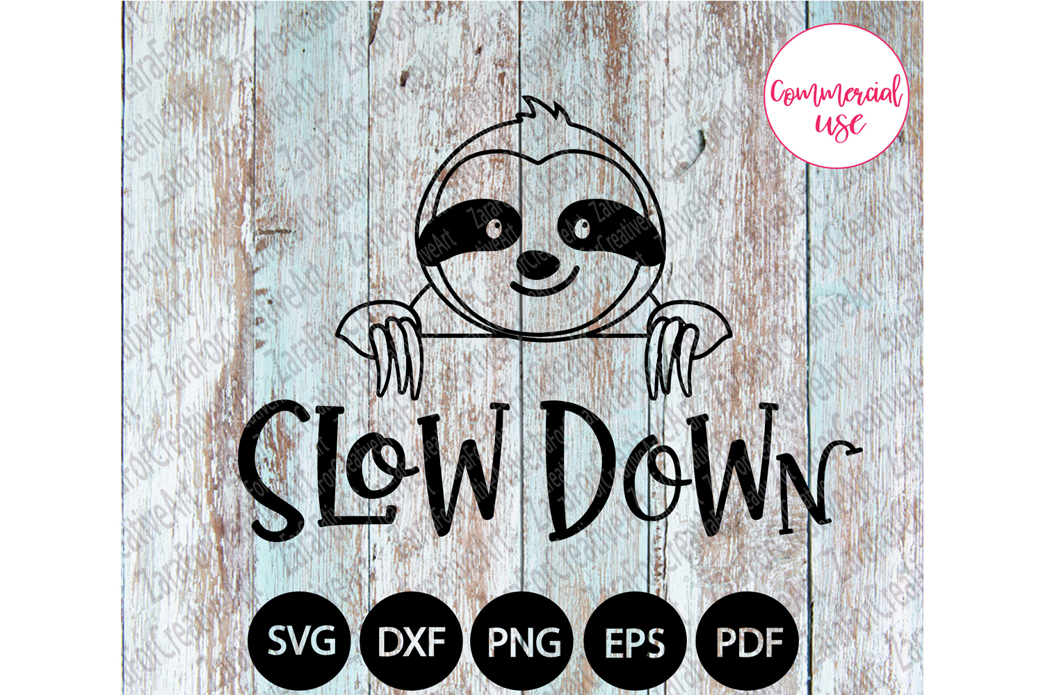 Slow down svg example image 1