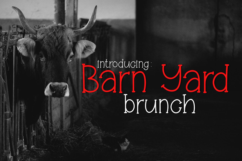 Barn Yard Brunch example image 1