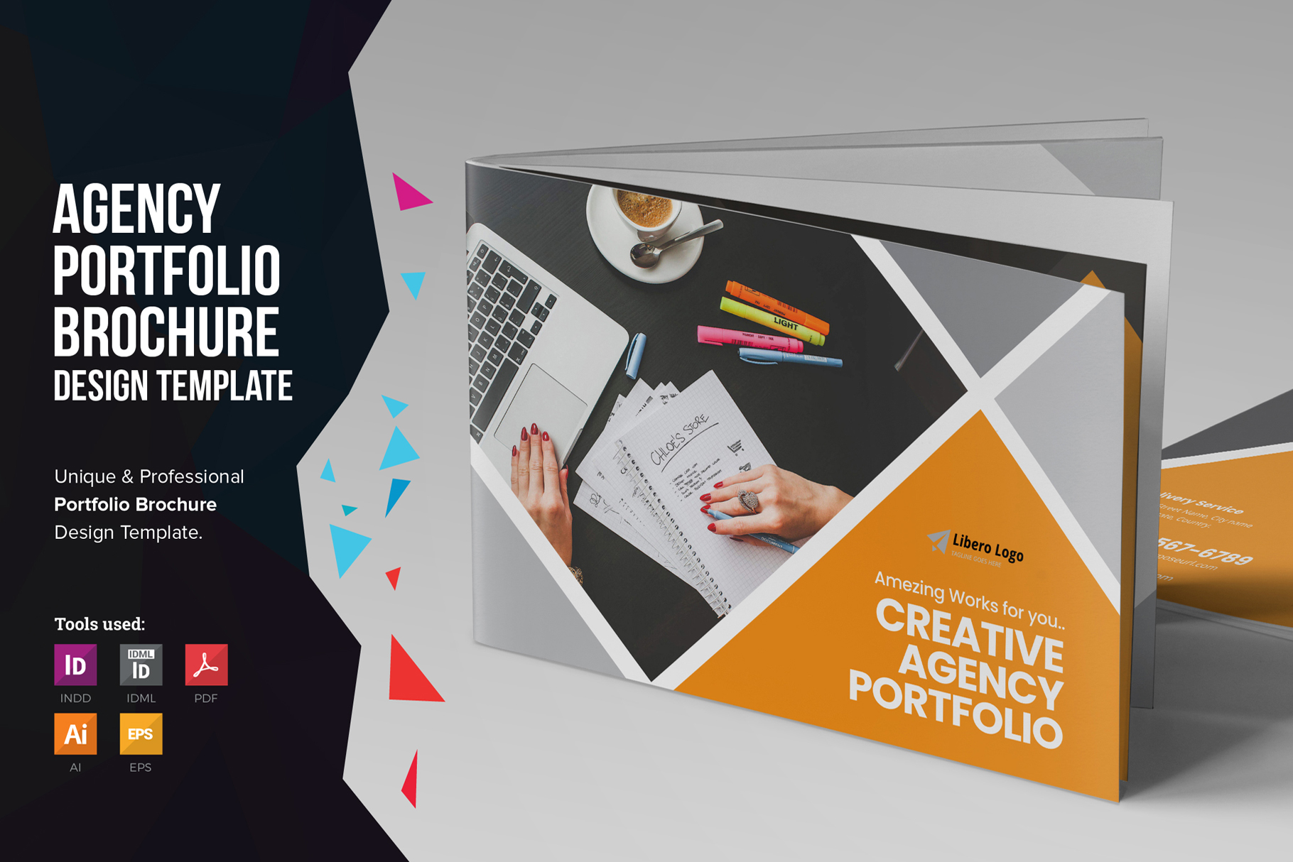 Digital Agency Portfolio Brochure v2 example image 1
