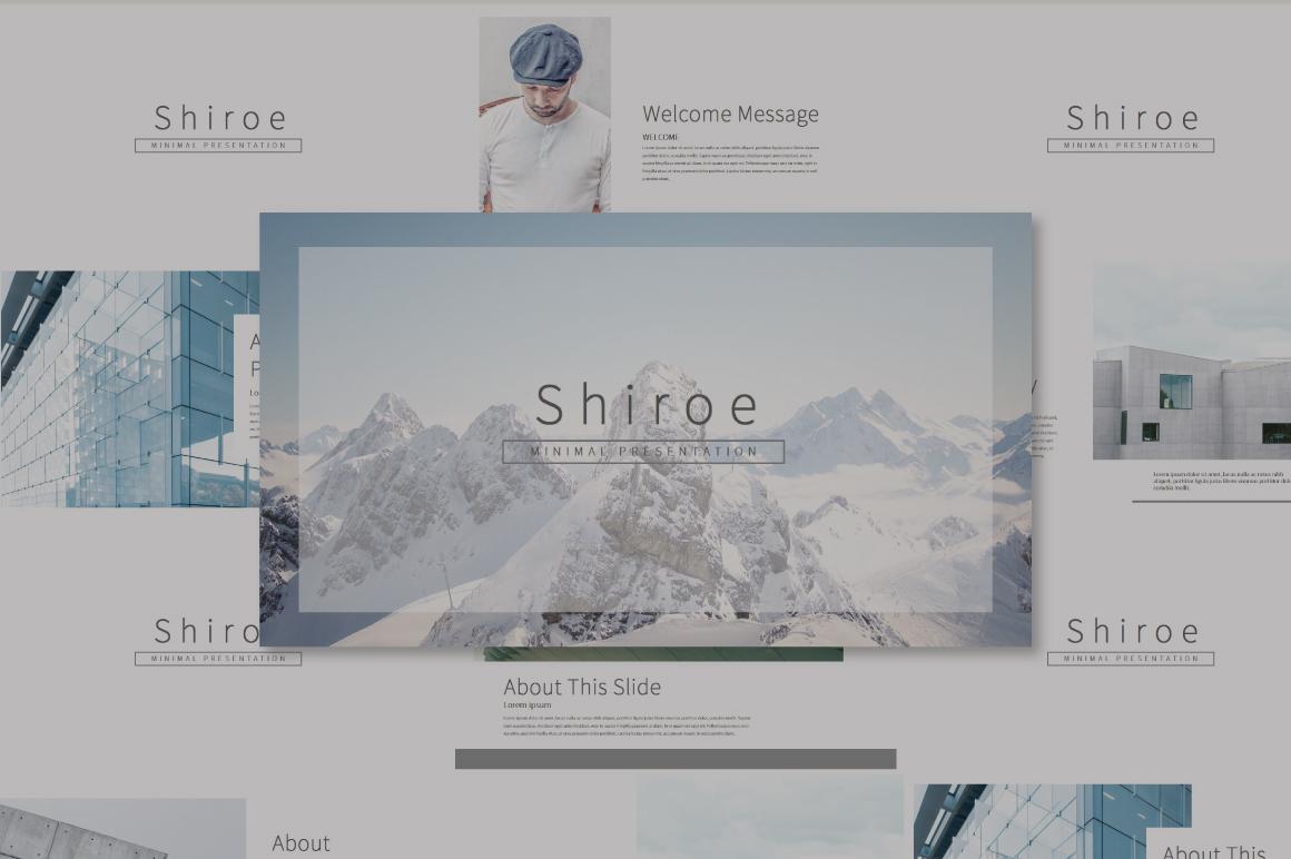 Shiroe Keynote Template example image 1