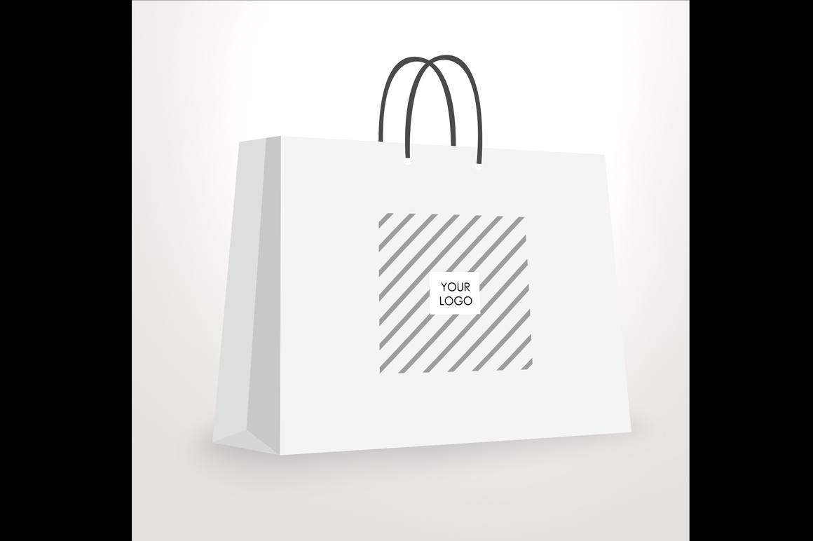 Paper / Shopping bag Mockup example image 2