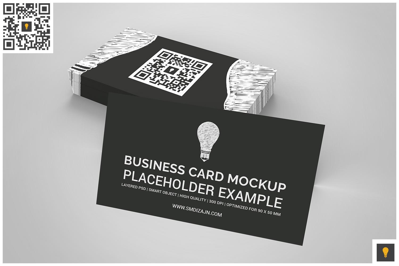 Business Card Mockup Set example image 3