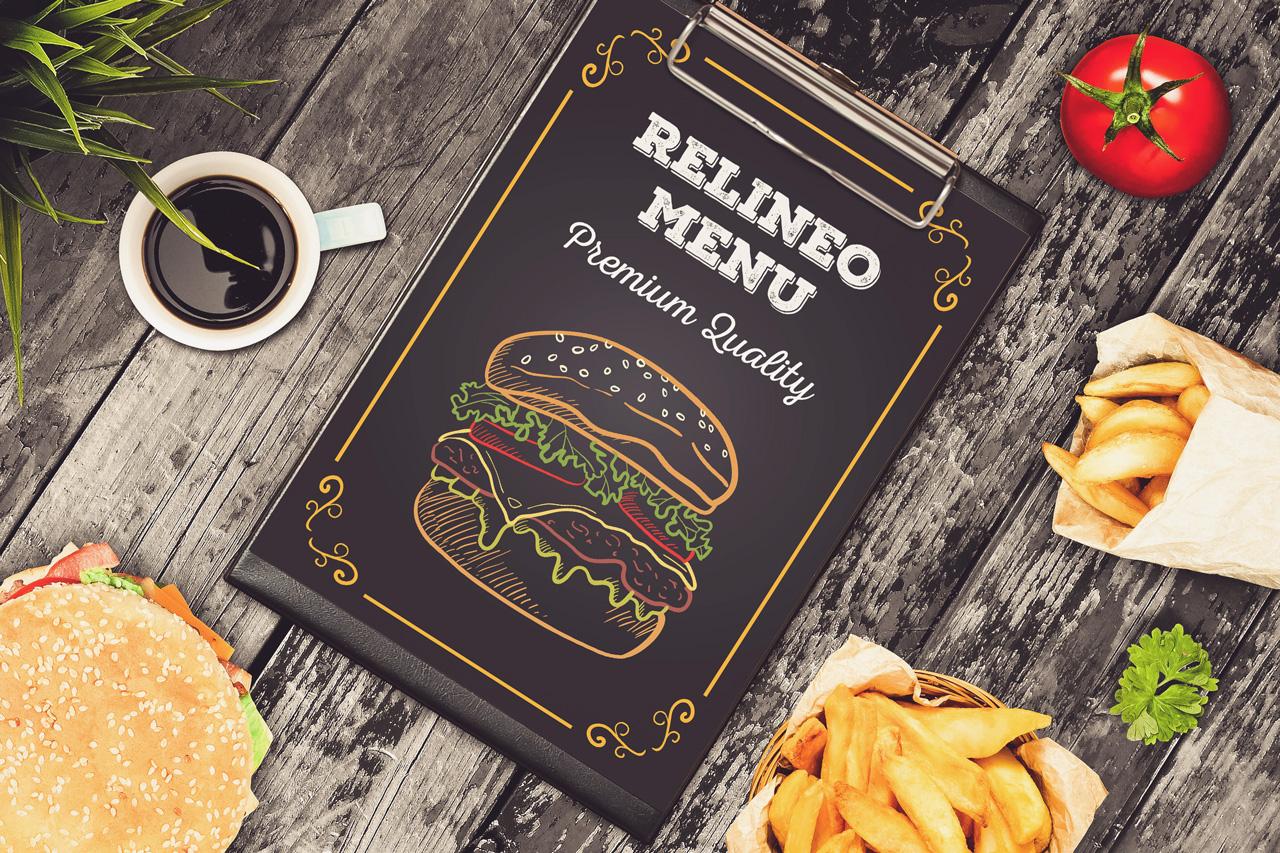Fast Food Menu Mock-up Pack#2 example image 3