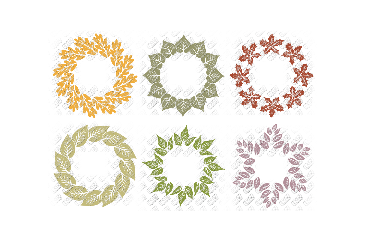 Leaf SVG Fall Leaves Autumn in SVG, DXF, PNG, EPS, JPEG example image 5