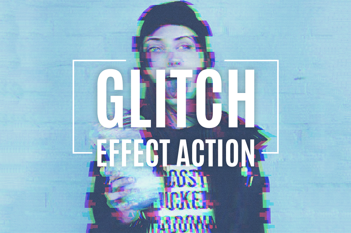 Glitch Effect Action example image 1