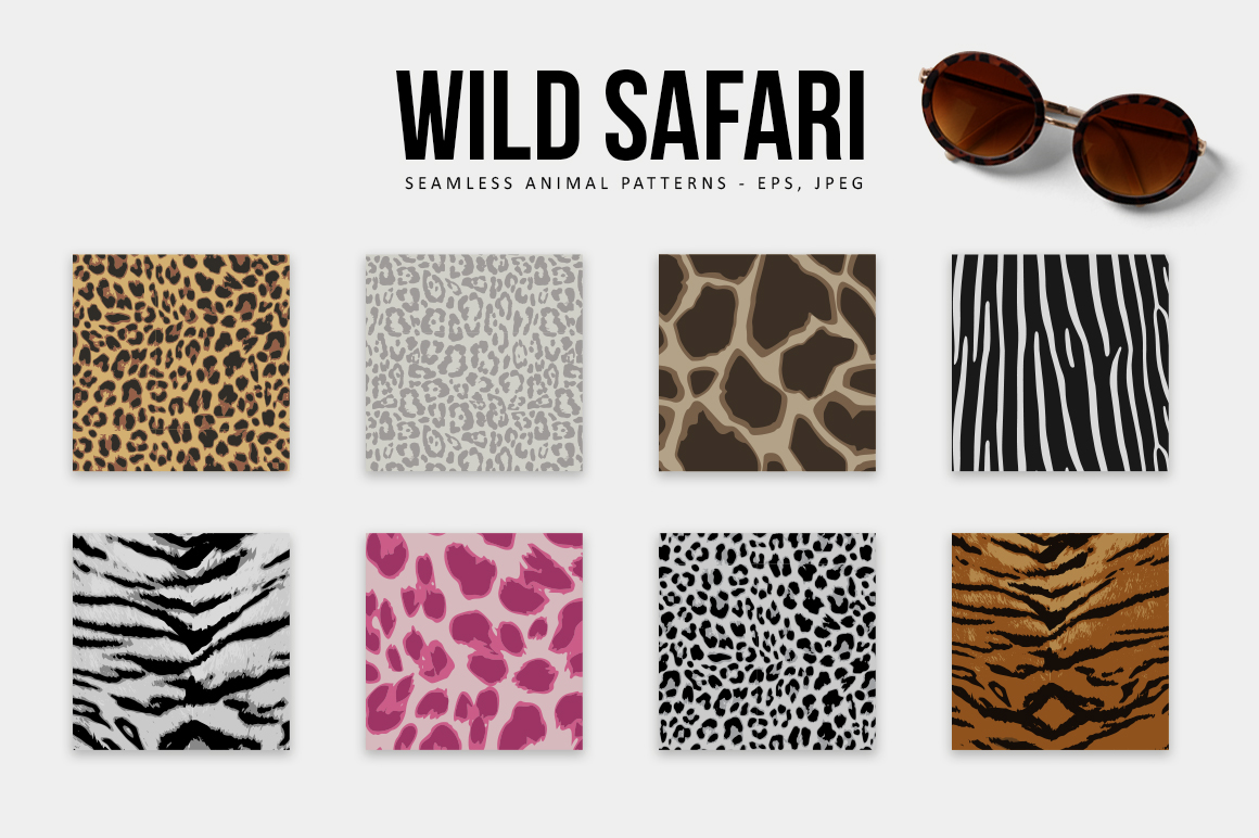 Wild Safari Patterns example image 4