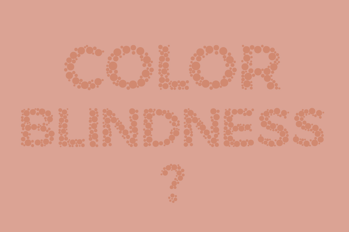 Color Blindness Test Typeface example image 2