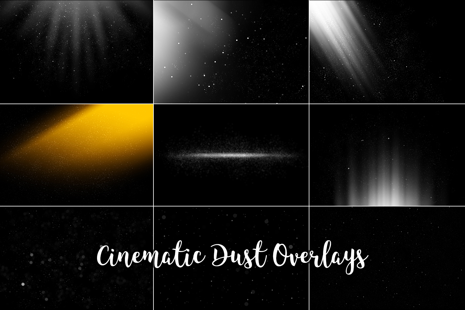 Cinematic Dust Photo Overlays, Bokeh Light Effects example image 10