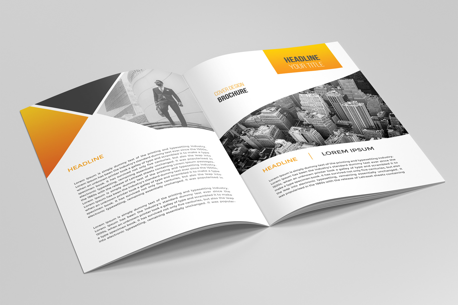 Business Brochure Template 03 example image 2