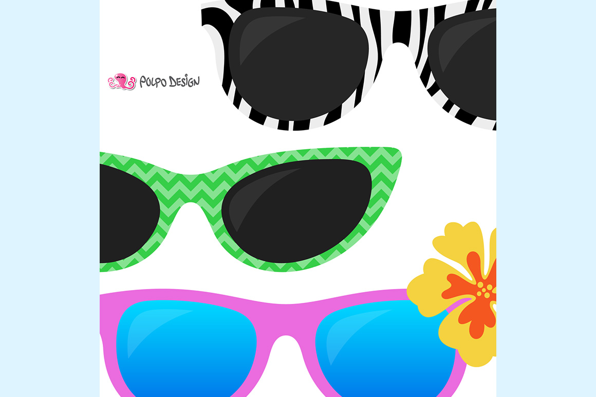 50 Sunglasses clipart example image 2