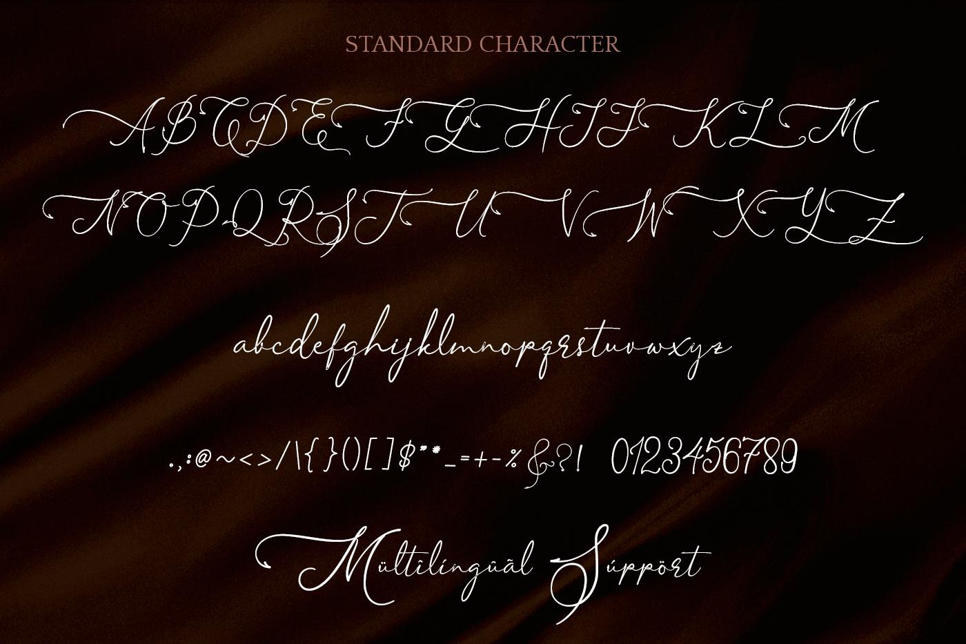 Asmelina Harley Script example image 7