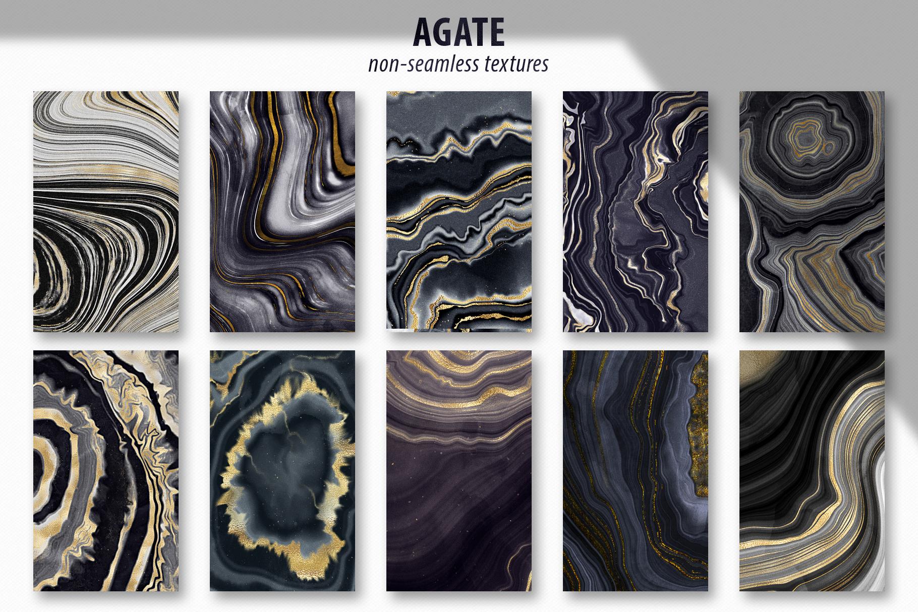 Noir - Patterns & Textures Bundle example image 17