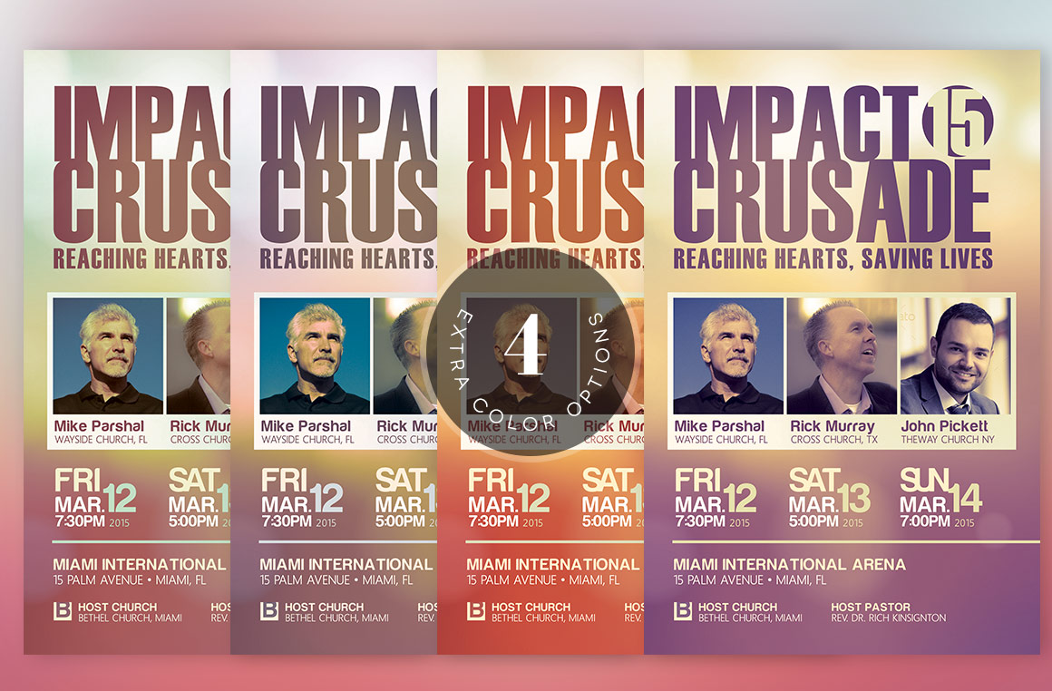 Church Crusade Flyer Template example image 6