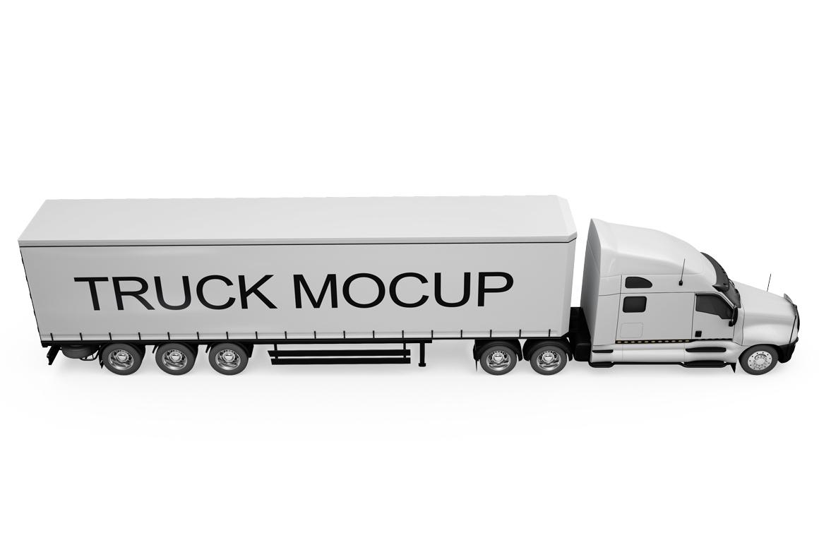 Truck Mockup example image 11
