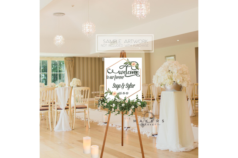 Wedding Mockup/ Wedding Sign Mockup/ Stock Photography example image 2
