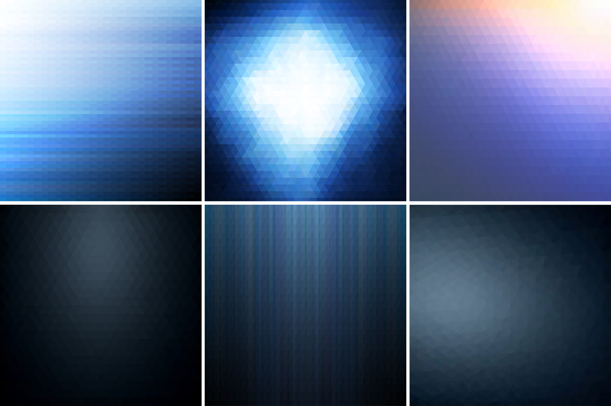 Blue abstract backgrounds. example image 1