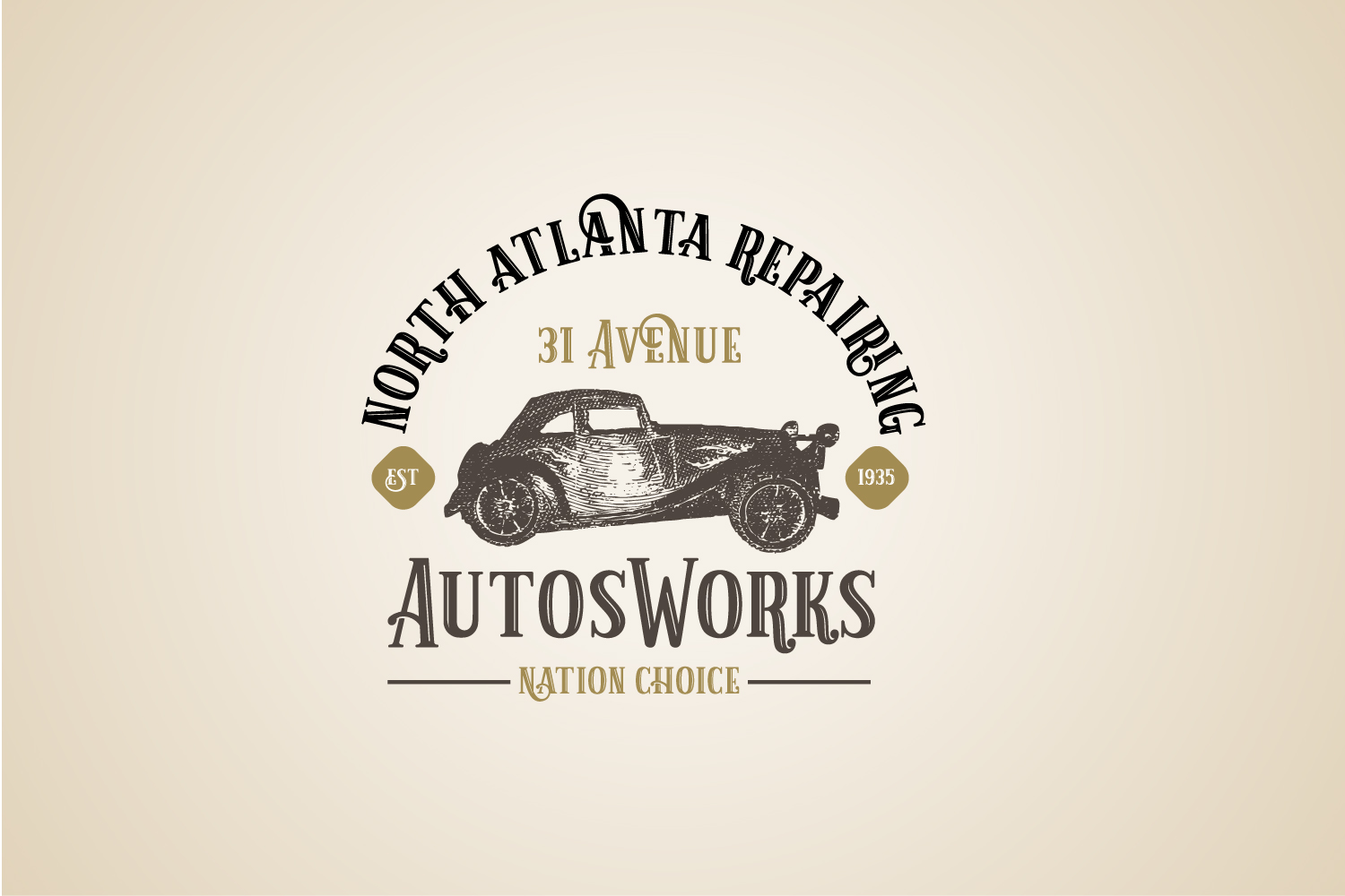 Old Vintage Car vector, Auto Logo Template Ai, Eps example image 2