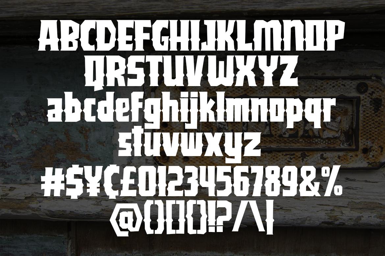 Jackster - Blackletter Font example image 6