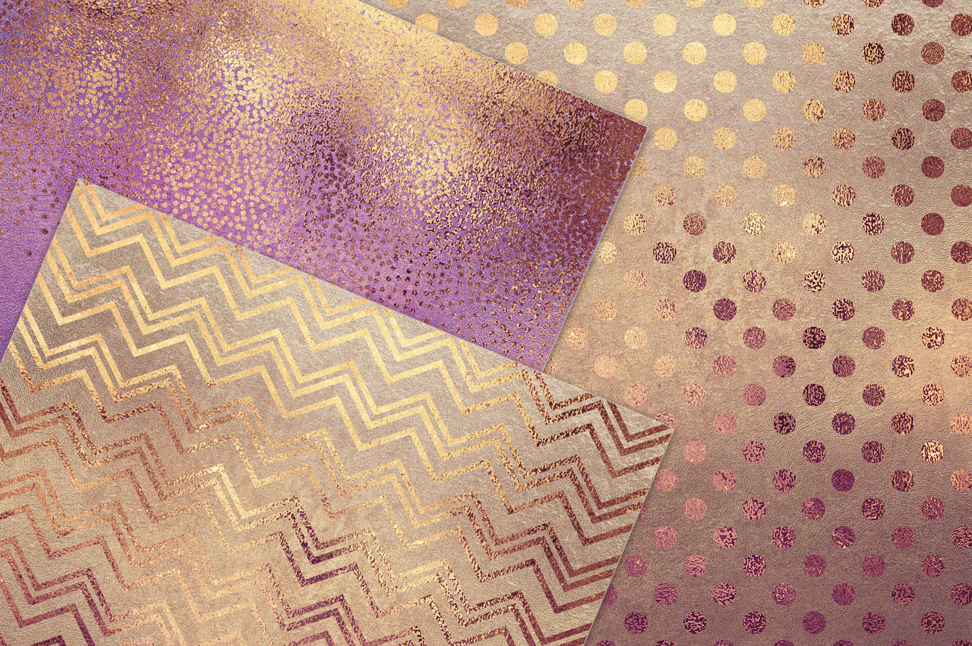 Rose Gold Pattern & Textures example image 2