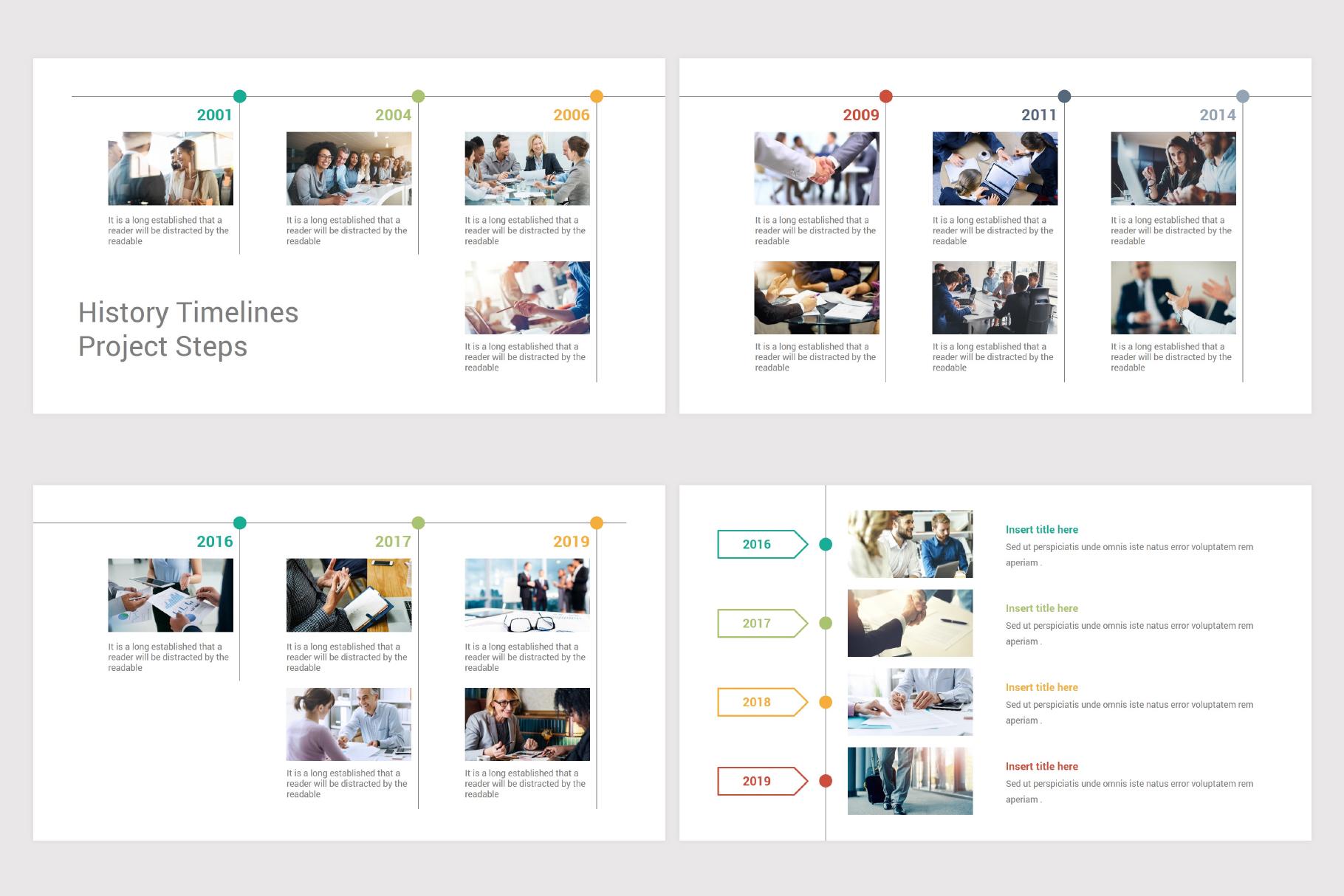 Keynote Timeline Infographics Pack-2 example image 14