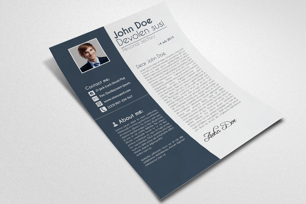 Cv Resume Office Templates example image 2