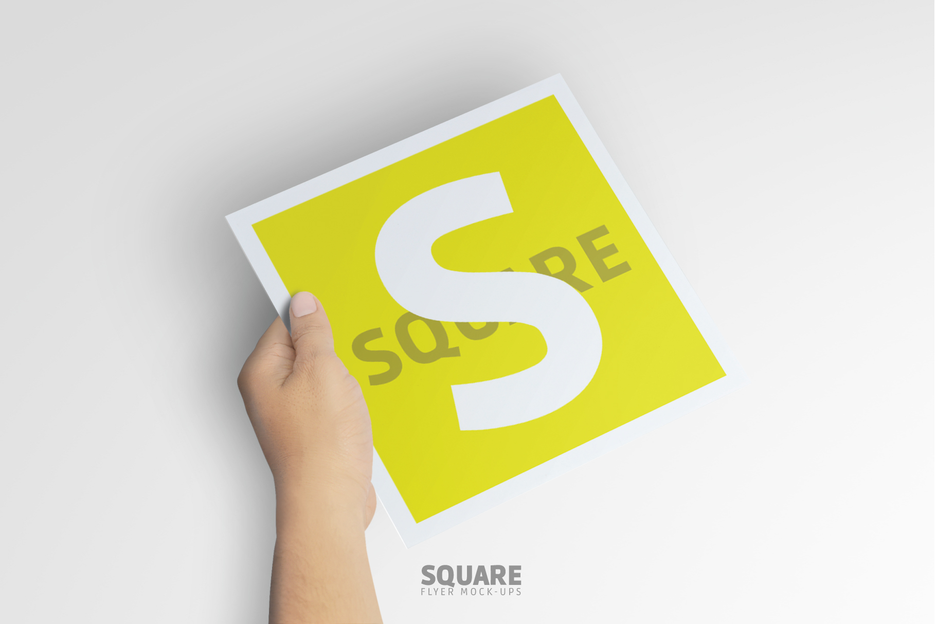 Square Flyer Mock-Up example image 2