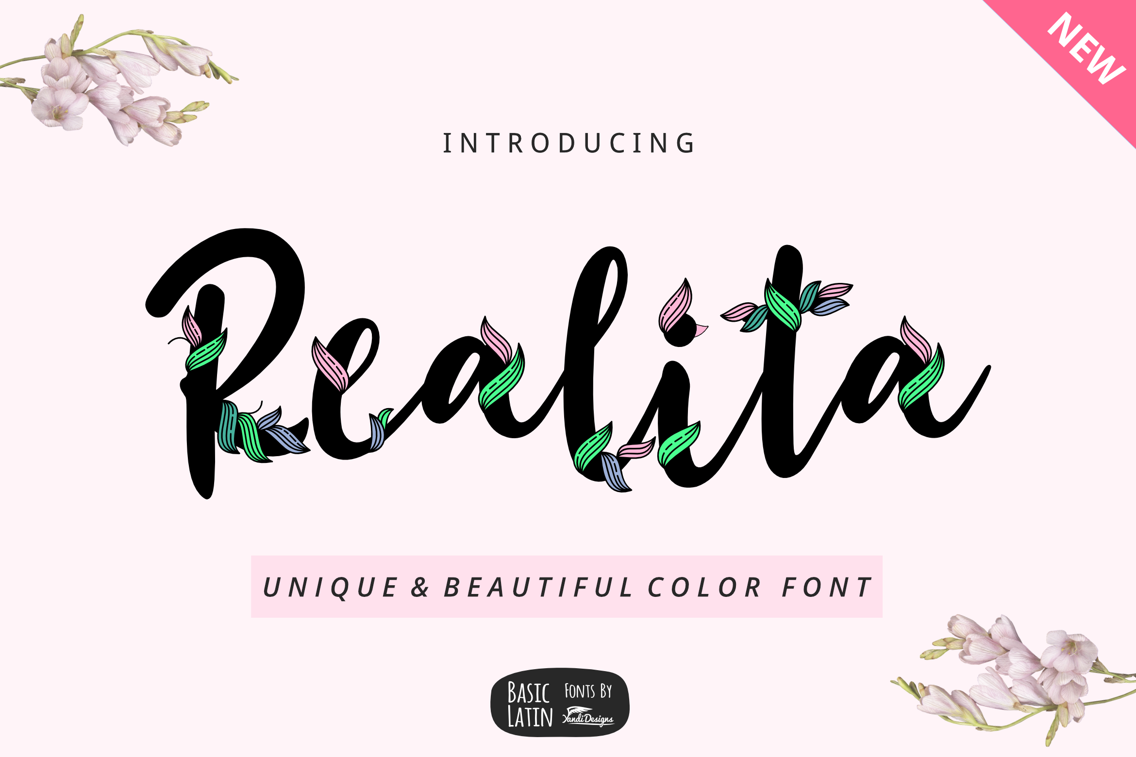 Unique Font Bundles by YandiDesigns example image 2