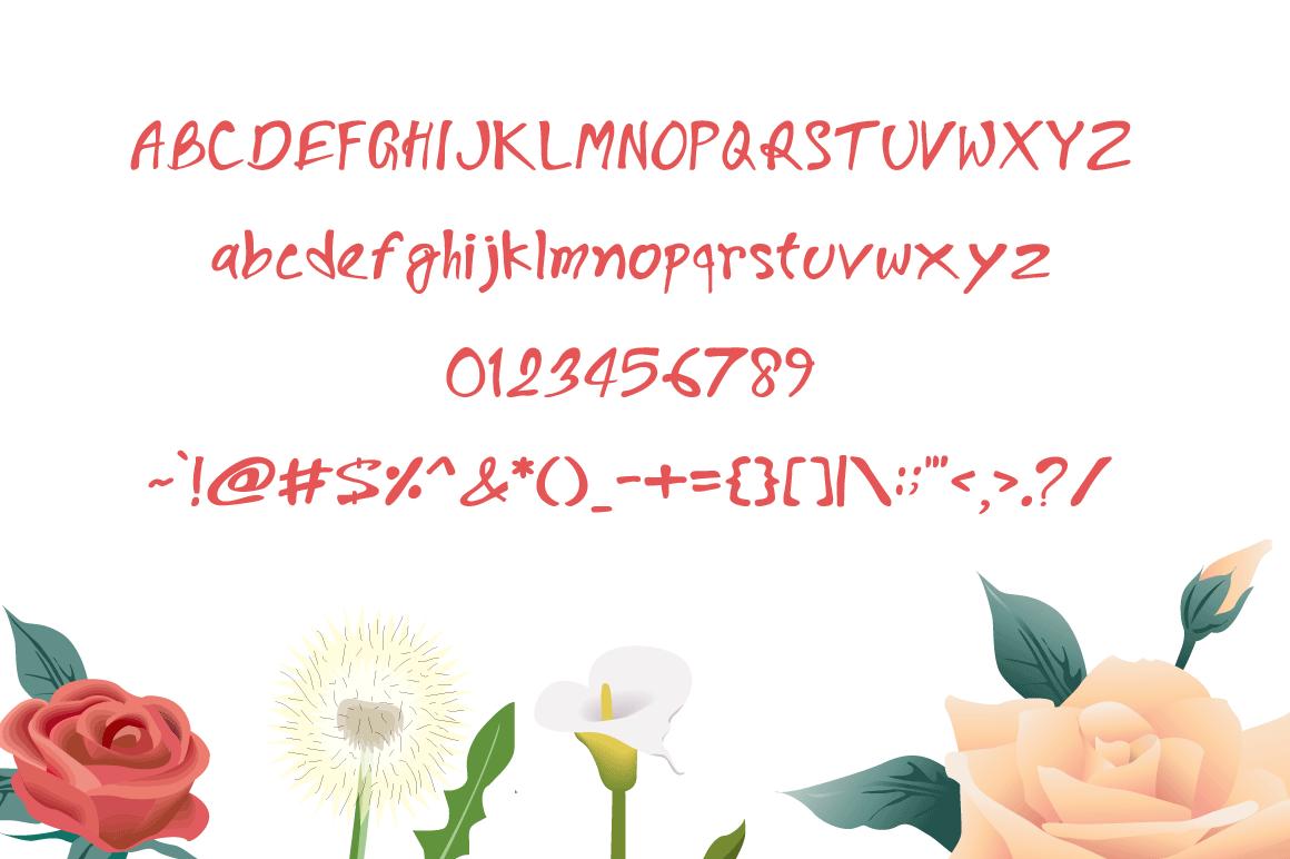 Goajubia Typeface example image 3