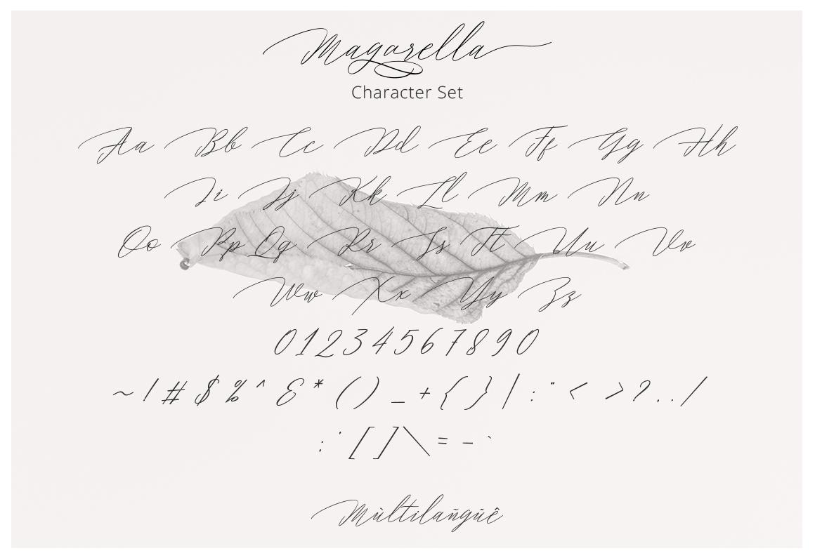 Magarella Script example image 6