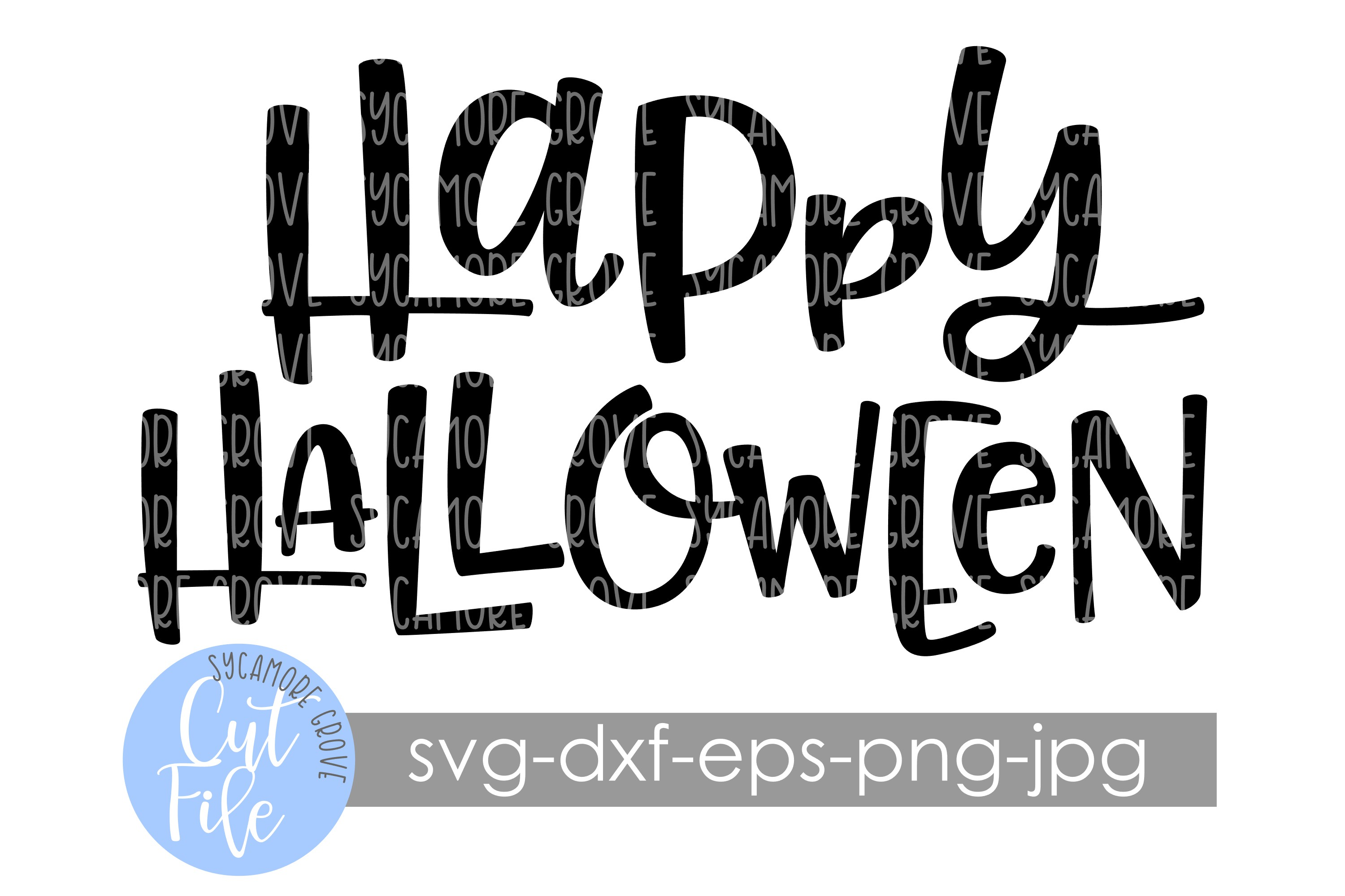 Happy Halloween | Doormat SVG | SVG Cut File example image 2