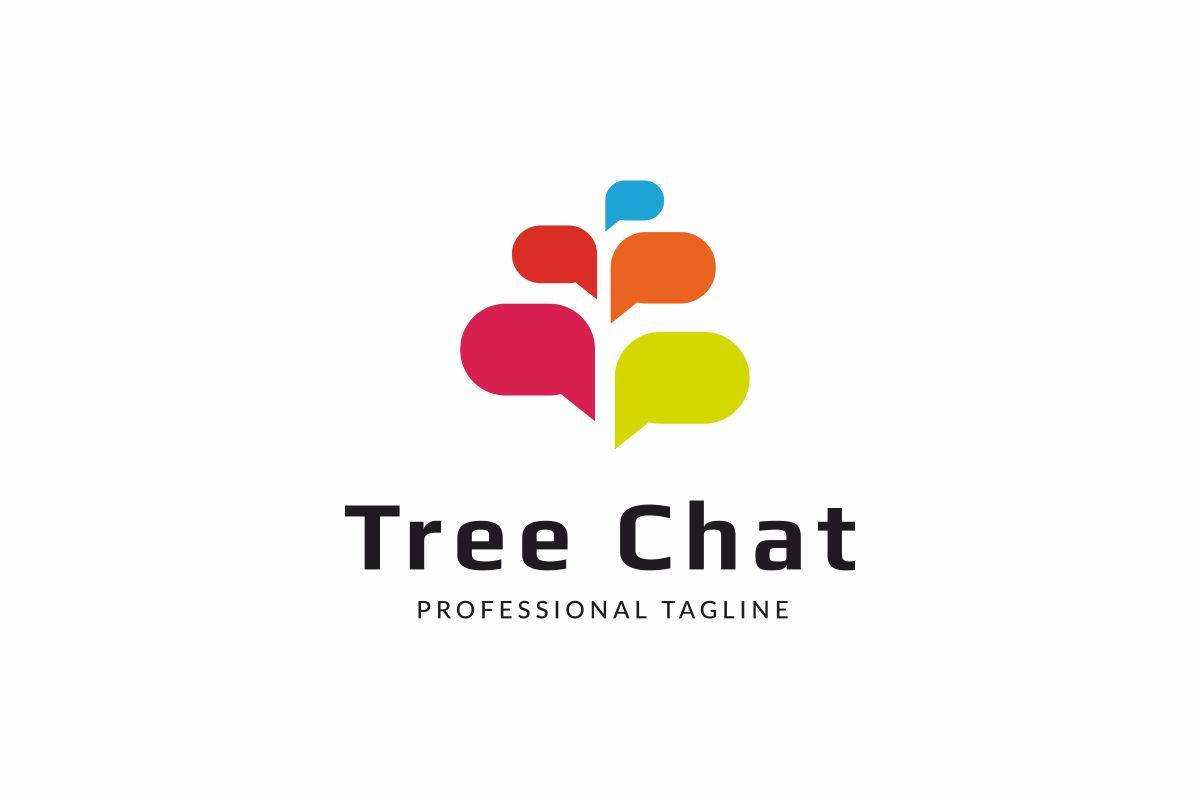 Tree Chat Logo example image 1
