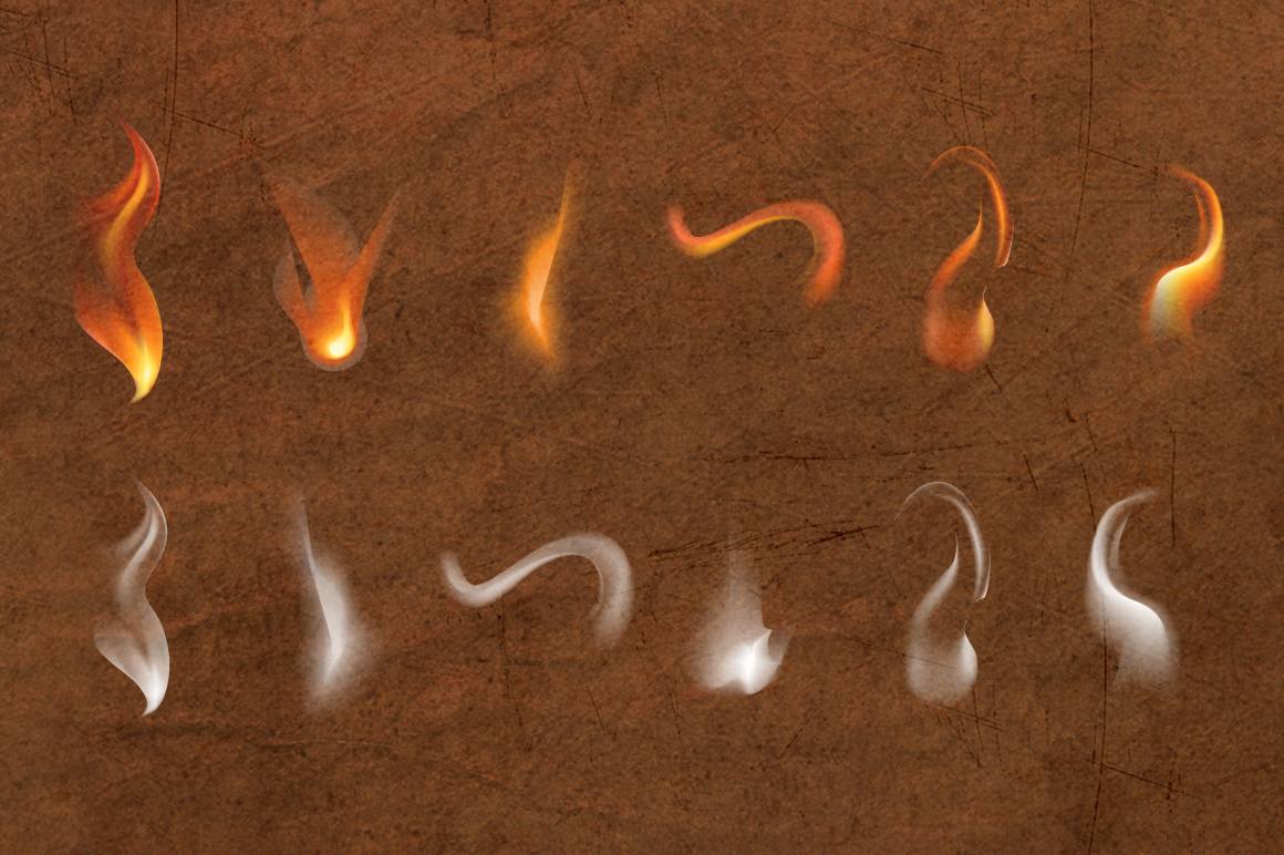 12 Smoke and Flame Effects example image 5