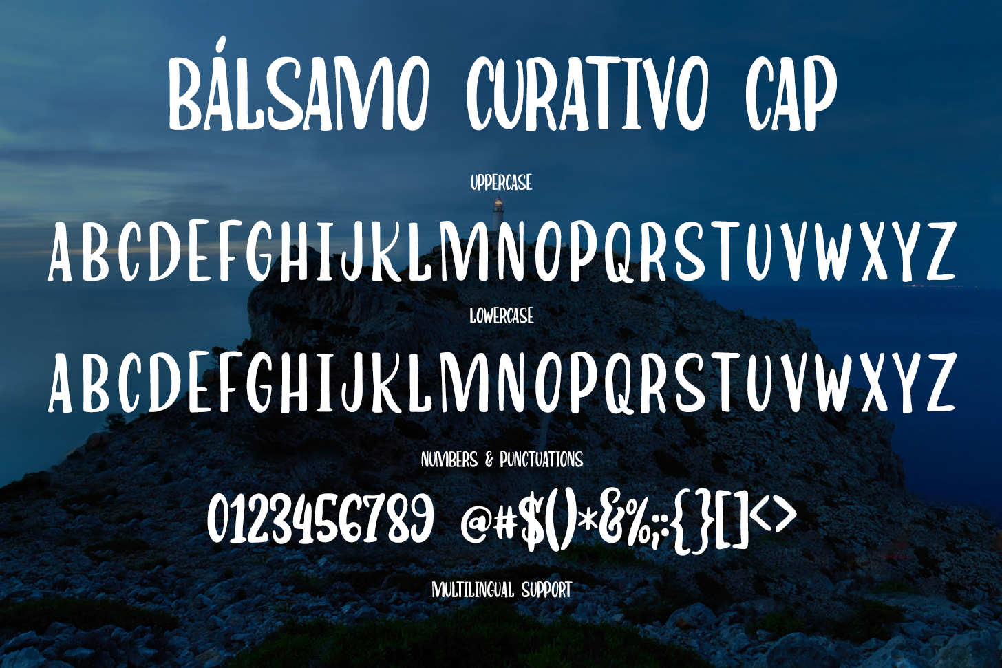 Bálsamo Curativo - Font Dou example image 10