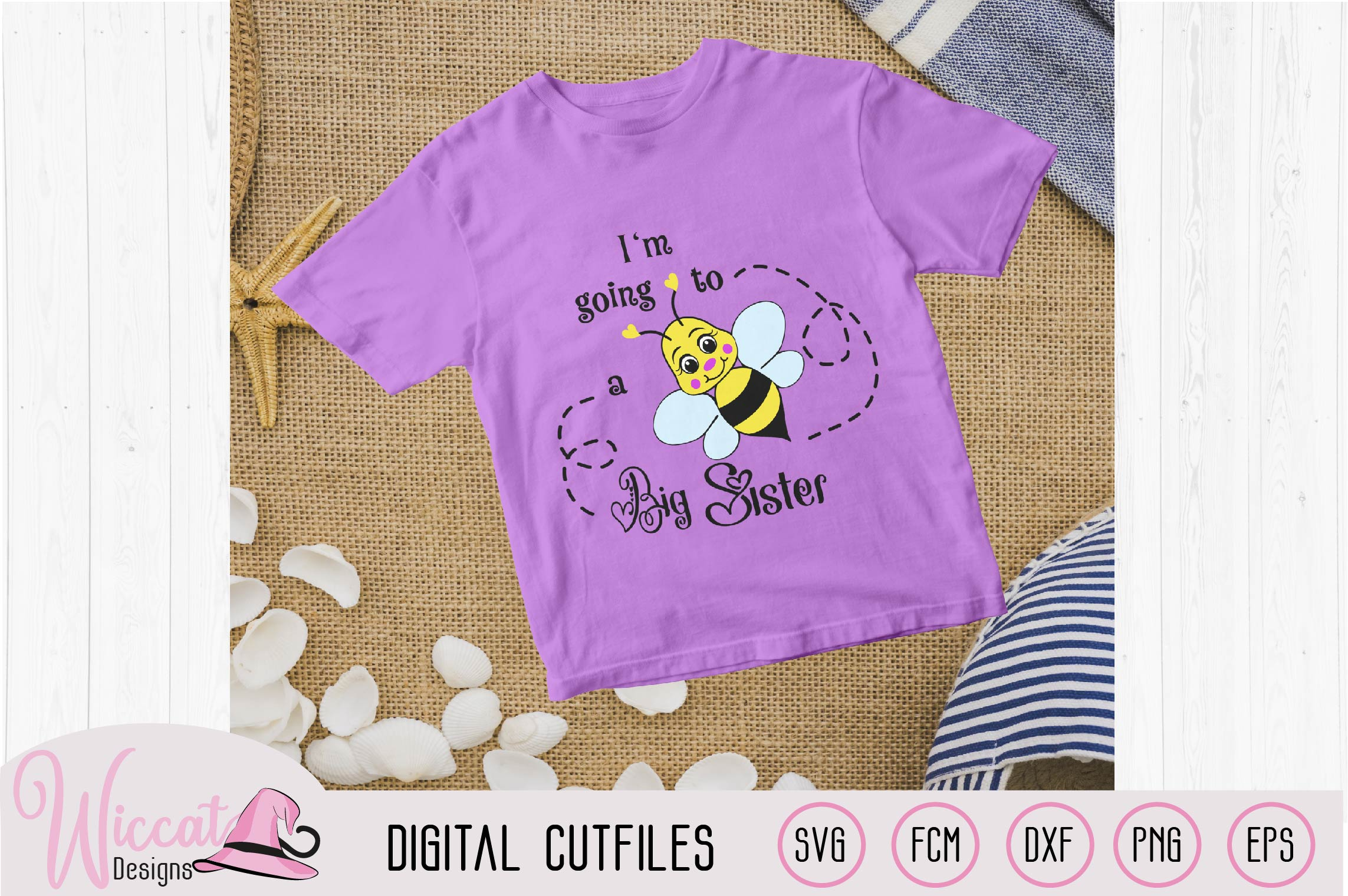 Big sister svg, kids svg, Bee quote svg, word art svg, example image 1