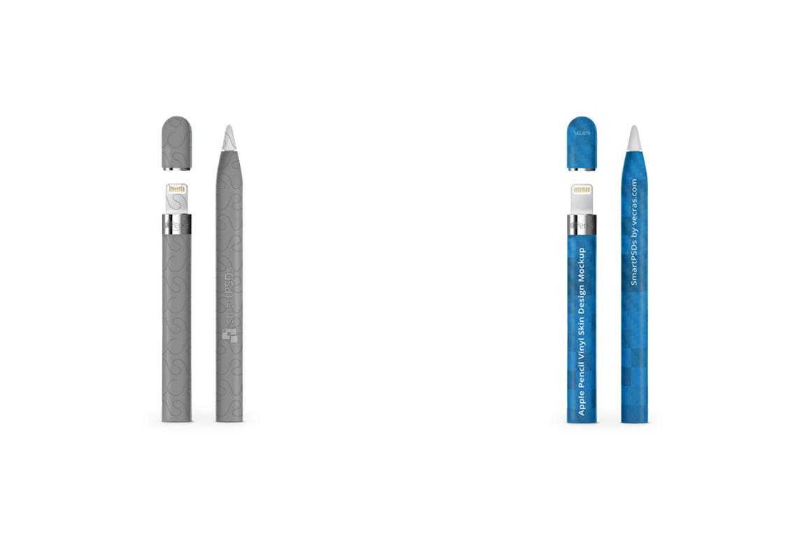 Apple Pencil for iPad Pro Vinyl Skin Design Mockup example image 6